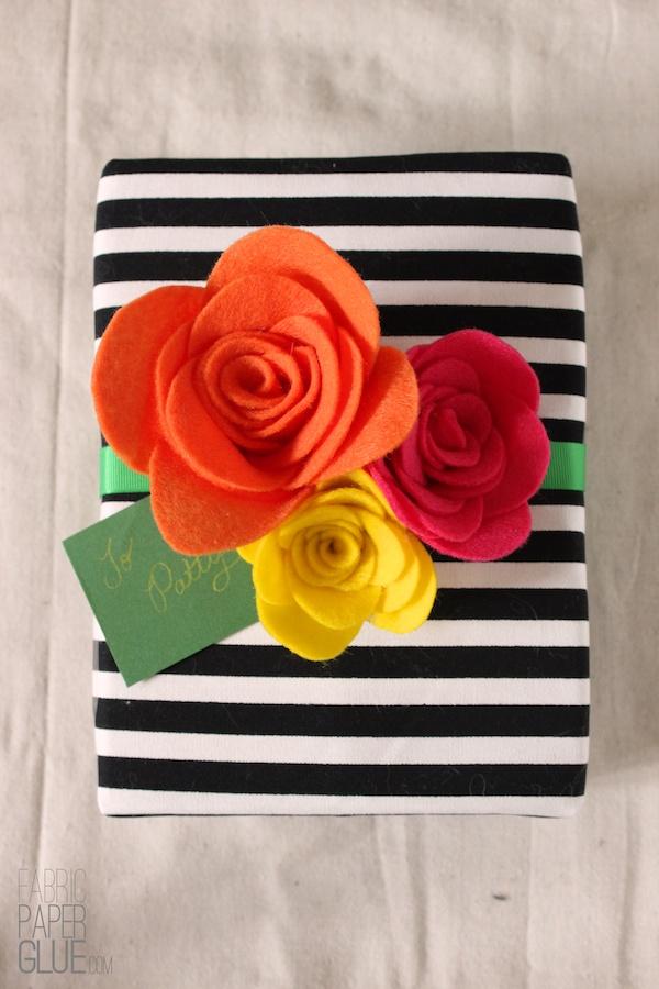 DIY Felt Flowers 1
