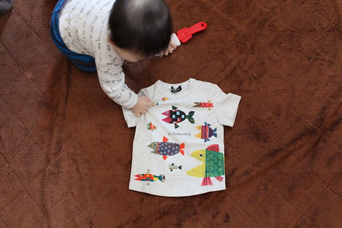 クレードスコープ_魚Tシャツ1