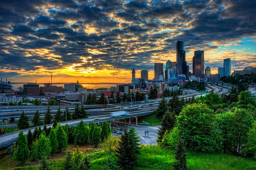 12th Street Sunset Seattle