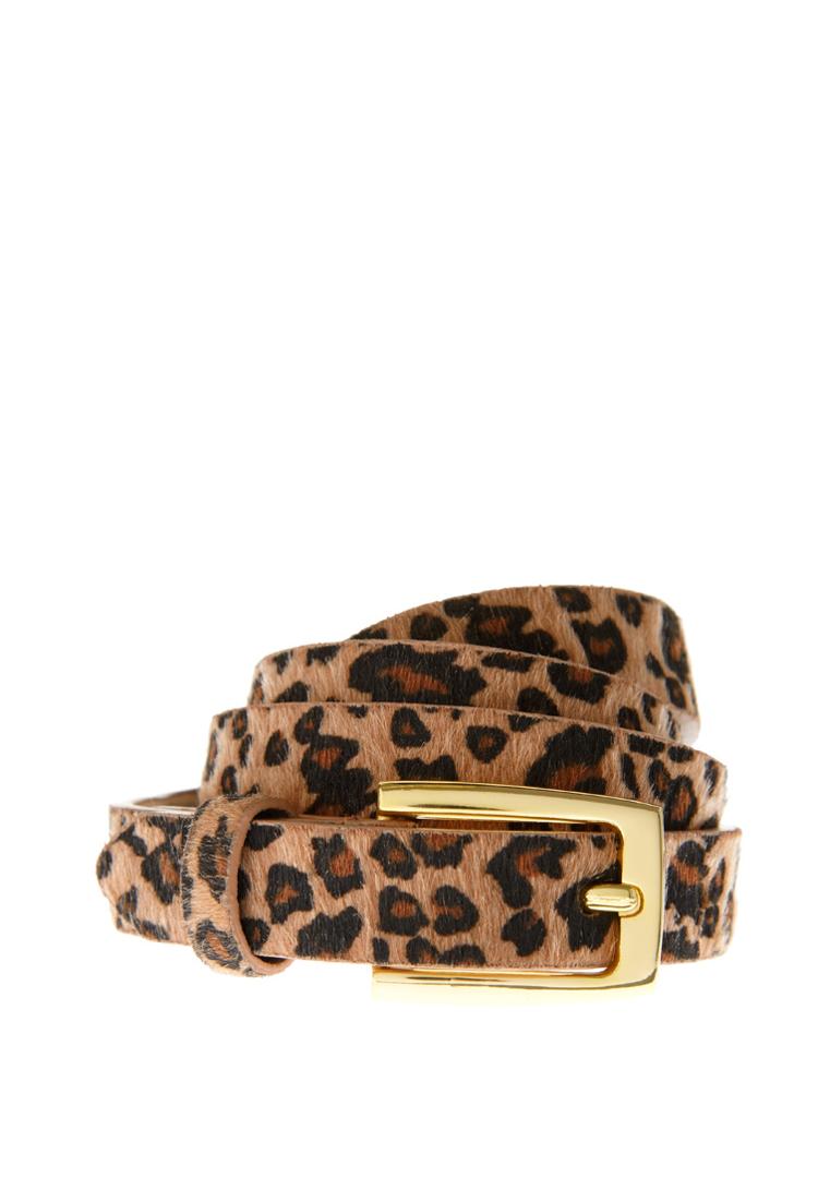 Asos Fantasy Leather Leopard Belt