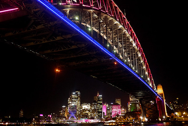 Vivid Sydney 2013 (Milsons Point, Circular Quay, The Rocks)