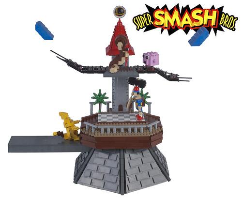 Super Smash Bros Battle on Peach's Castle