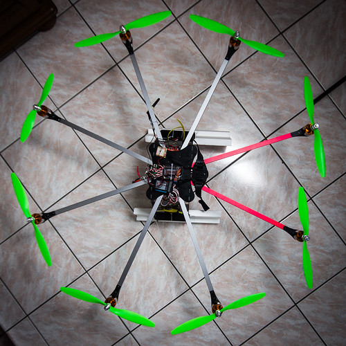 Our octocopter