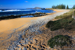 Cemetery Beach (Graveyard Beach), Near Kingston Historic Cemetery, Kingston, Norfolk Island
