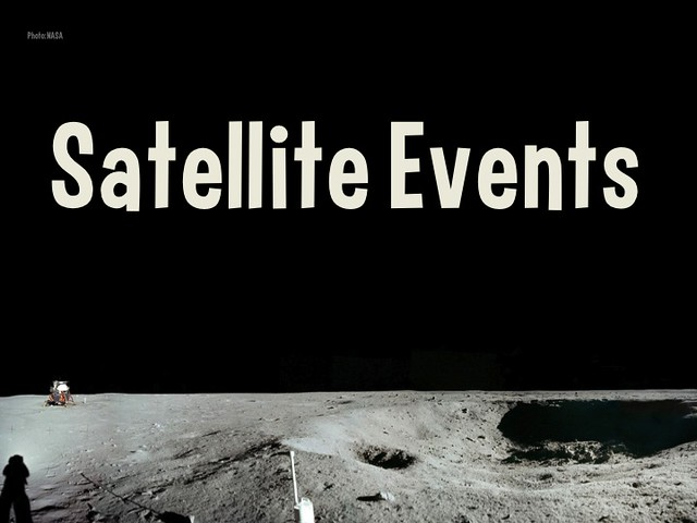 Question for event organizers: Do you encourage satellite events?