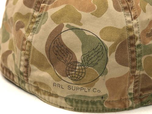 RRL / Camo Service Cap