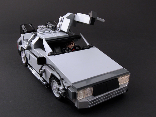 DeLorean Open Door
