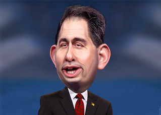 Scott Walker can't wait to be president so that he can blow up the world: Walker/End Times 2016