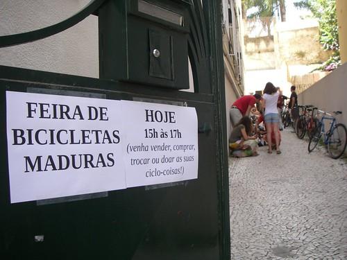 Feira de Bicicletas Maduras de Julho 2013