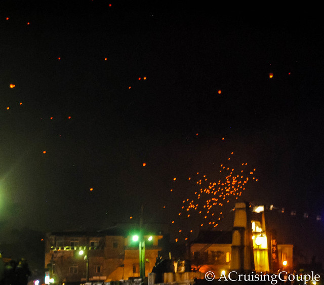 Lantern Festival, Pingxi: Hopes and Dreams Up In Flames