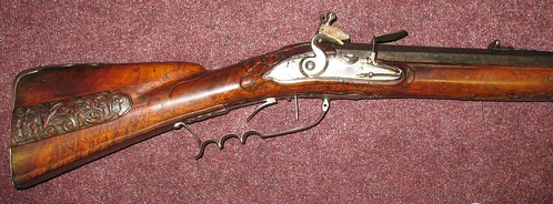 Danish Flintlock Jaeger Rifle