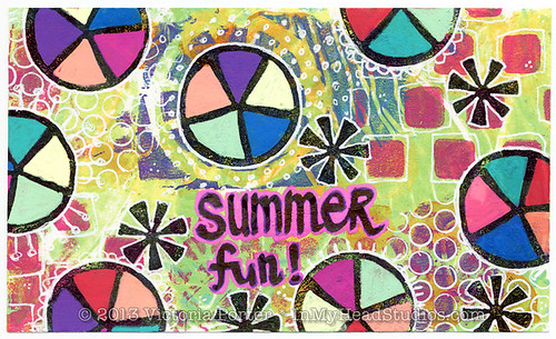 """Summer Fun"" ICAD : 7-3-13"
