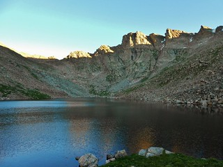 The Sawtooth and Abyss Lake