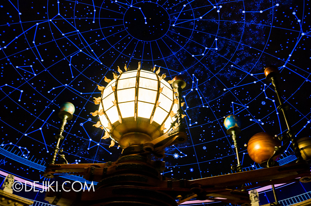 Tokyo DisneySea - Mediterranean Harbor / Fortress Explorations / Chamber of Planets / Starry Night