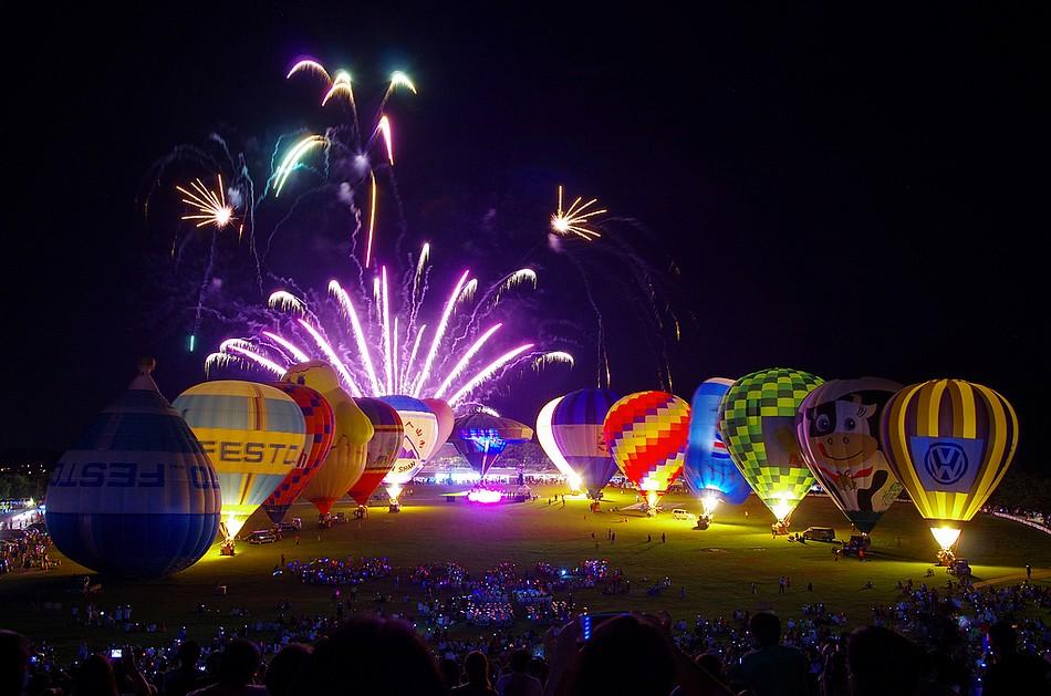 熱氣球閉幕音樂會
