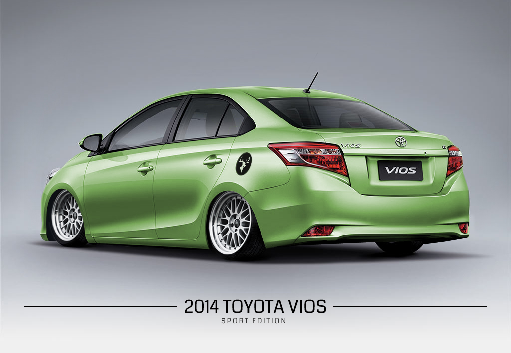 So, How Now Brown Cow • 2014 Toyota Vios - Sport Edition