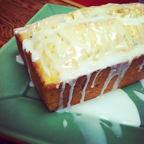 Lemon zucchini bread! I did it @megbrothers (Meg's Pinned it. Did it. post all about it is Wednesday's post on my blog)