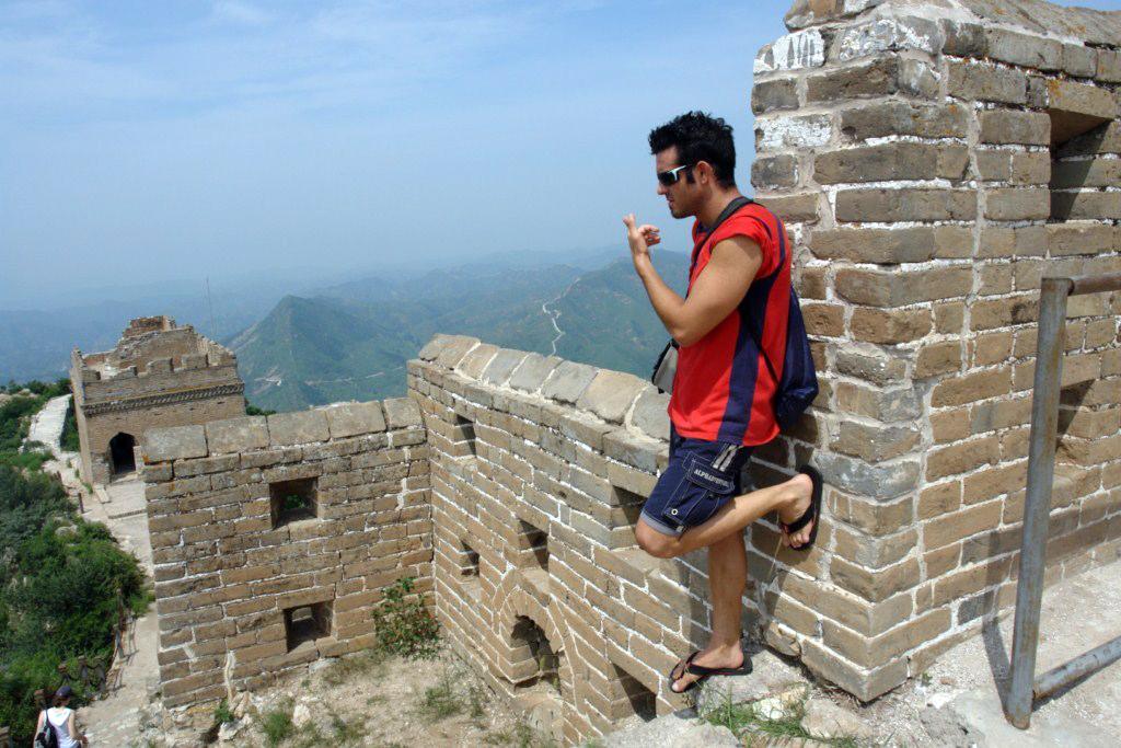 La vista desde las alturas es una maravillo, uno se siente  Simatai, en las alturas de la Gran Muralla China - 9582347255 190f645a4f o - Simatai, en las alturas de la Gran Muralla China