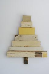 wood & wool x-mas tree [brøndby]