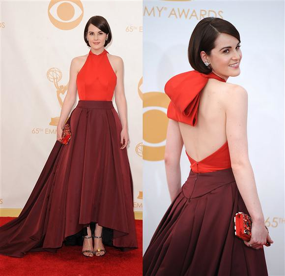 Michelle Dockery Emmys 2013