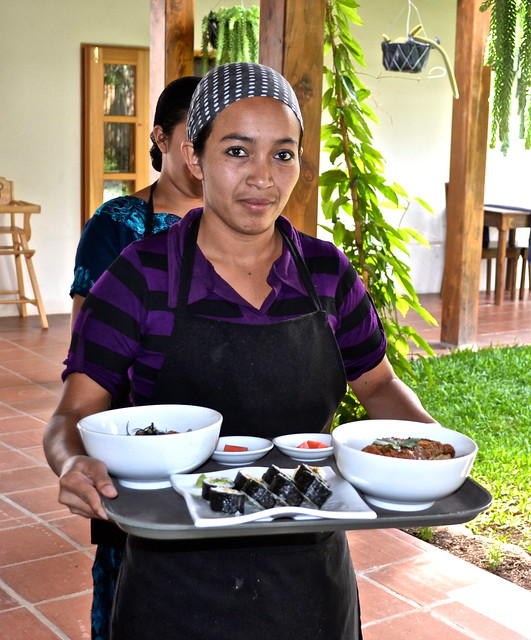 Authentic Japanese Food on Lake Atitlan, Guatemala