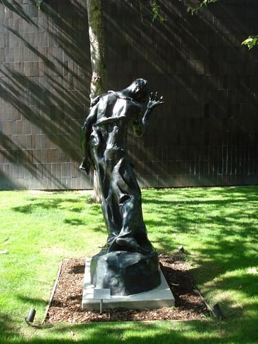 DSCN8815 _ Pierre de Wissant, Nude, 1884-95, Auguste Rodin (1840-1917), Norton Simon Museum, July 2013