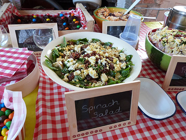 spinach salad 1