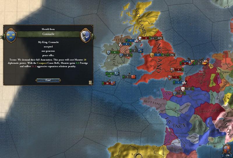 Europa Universalis IV AAR - Irish Munster Mash Redux