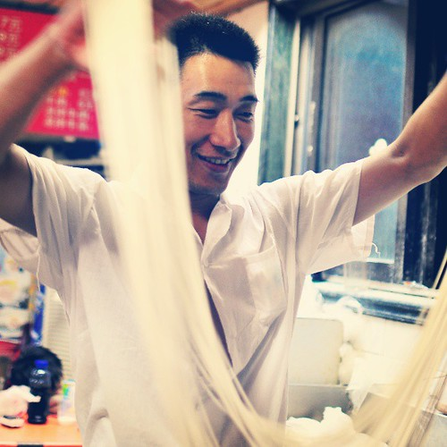 Of all the incredible delights that we experienced in #Shanghai, these Henan-style hand-pulled noodles bested them all. I live for #noodles, and these were nothing short of stupendous. Featured today on GastronomyBlog.com!