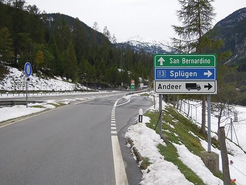 目的地Splugen