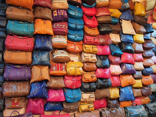 Fes古城的皮革染紡-工商時間