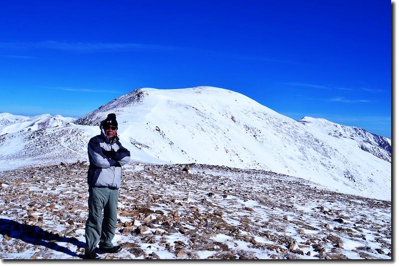 Loveland Pass  Point 12,915' 山頂