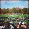 Beautiful day for a football game. #football #letsgostjoes