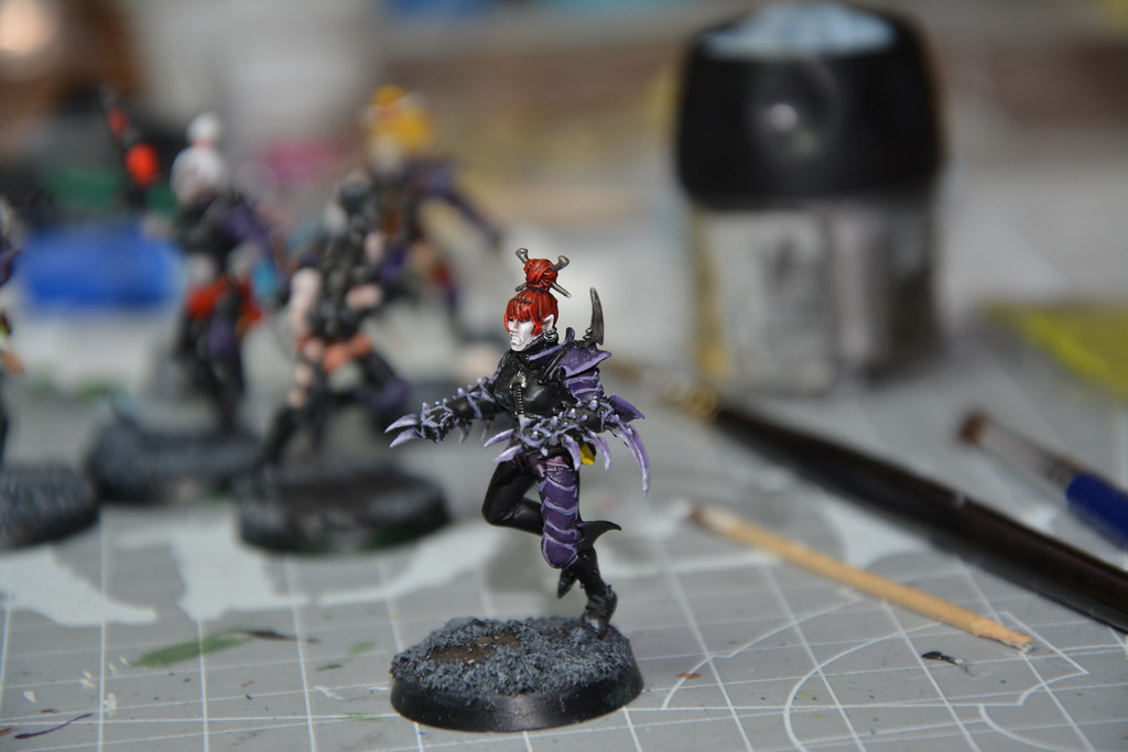 Cult of Bladed Violet & Kabal of Violet Storm - DE witches conversion! 10593526945_d8c973d78f_b