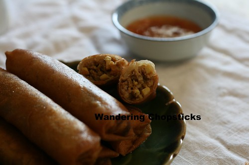 Indonesian Lumpia Semarang with Bamboo Shoots, Dried Shrimp, and Scrambled Eggs 8