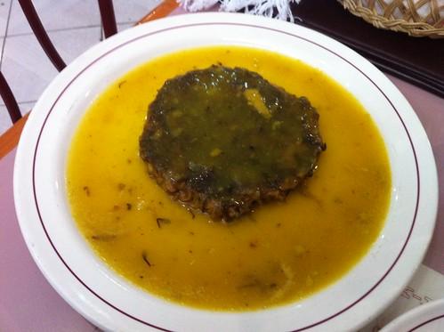 México DF | Restaurante Don Chon | Crisantemos rellenos de atún con salsa de mango