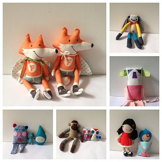 Foxes and other cute critters for the win! #softiesformirabel Our charity handmade toy appeal is in full swing!