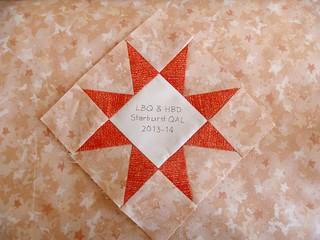 Starburst Label