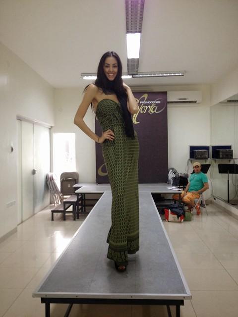 Clases de Pasarela Miss Universo Paraguay 2013 (16)
