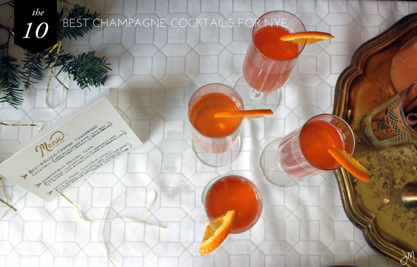 Julip Made 10 best new years eve champagne cocktails