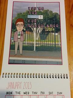 Able & Game: Melbourne train station calendar 2013