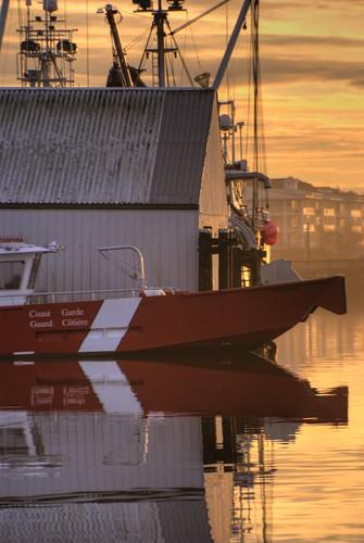 Coast Guard - New Years Day Sunrise  Steveston