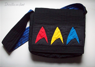 Star Trek Messenger Bag