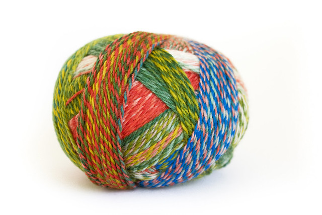 Zauberball 6-Ply in shade Papagei