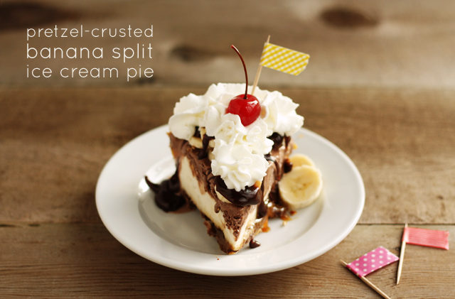 banana-split-ice-cream-pie