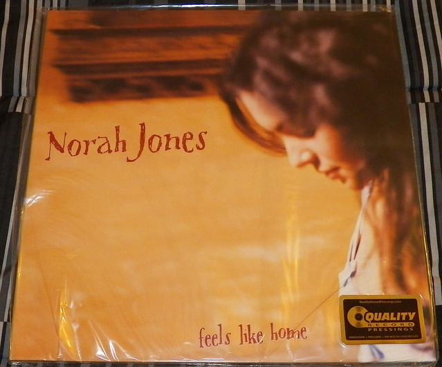 norah jones feels like home vinyl cover flickr photo sharing. Black Bedroom Furniture Sets. Home Design Ideas