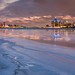 Detroit at Dusk on January 13, 2014 by Moon Man Mike