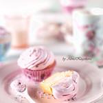 Rose Flavor Cupcakes