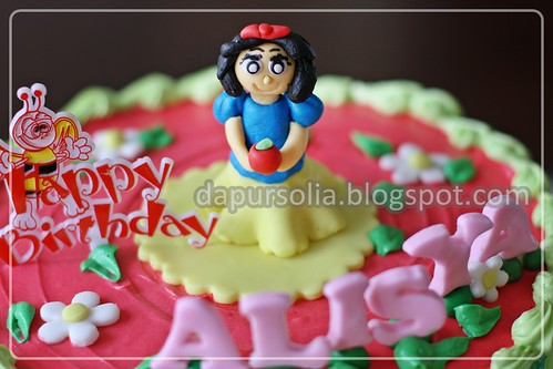 Snow White Cake for Alisya