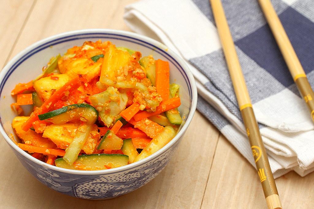 Achar Recipe: Achar in a bowl